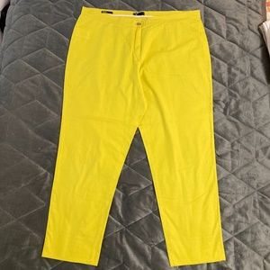 Fun Cotton Crop Pants